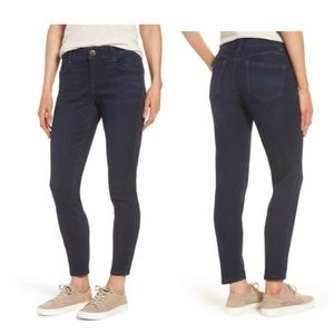 NWT Wit & Wisdom Absolution Black Skimmer Jeans 12